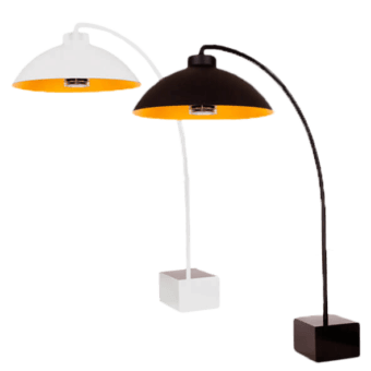 dome_white_and_black_staanlamp
